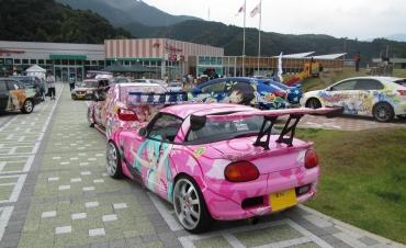 静岡もえしょくプロジェクト NEOPASA静岡(上り線)夏祭り