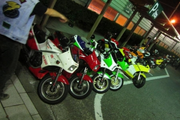 2014年KROG第三京浜集会保土ヶ谷パーキングKROGミーティング 記念撮影