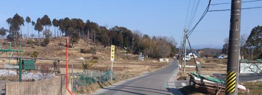 保見付近の里山旧道