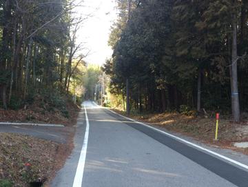 藤岡の里山旧道