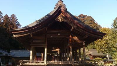 猿投神社拝殿