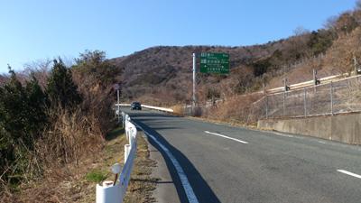 宇利峠へ2014