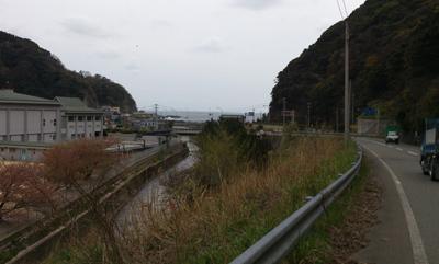 やってきました日本海