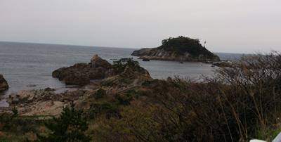 越前海岸の絶景