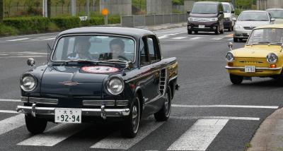 旧型車ピカピカ軽トラック