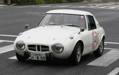 旧型車軽ホワイトクーペ