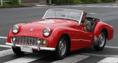 旧型車赤オープン