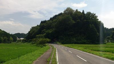 小原の里うっそうとした緑の季節