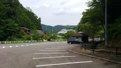 小原和紙の里駐車場
