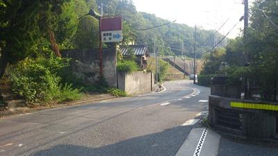 鹿乗橋を渡って中央線沿い