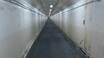 衣浦トンネル自歩道