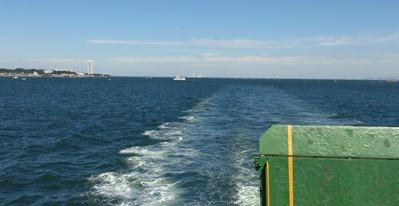 師崎を出航し伊良湖へ