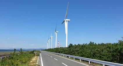 伊良湖の風力発電