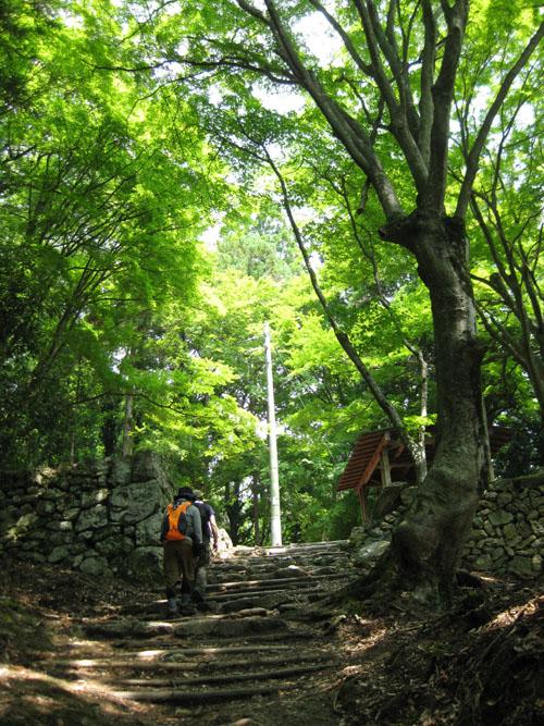 愛宕山登山3-15
