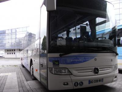 モンサン行きバス
