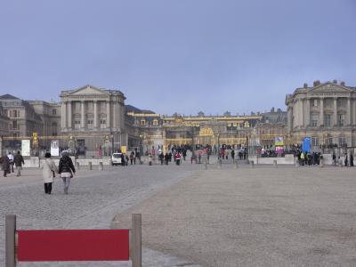 ヴェルサイユ宮殿・正面