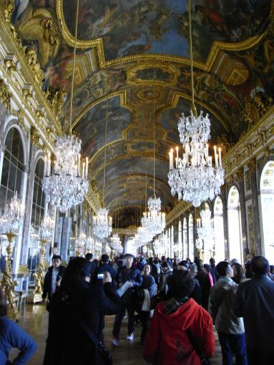 ヴェルサイユ宮殿・鏡の間