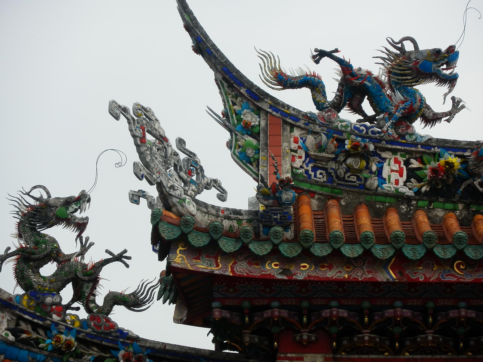 龍山寺・装飾
