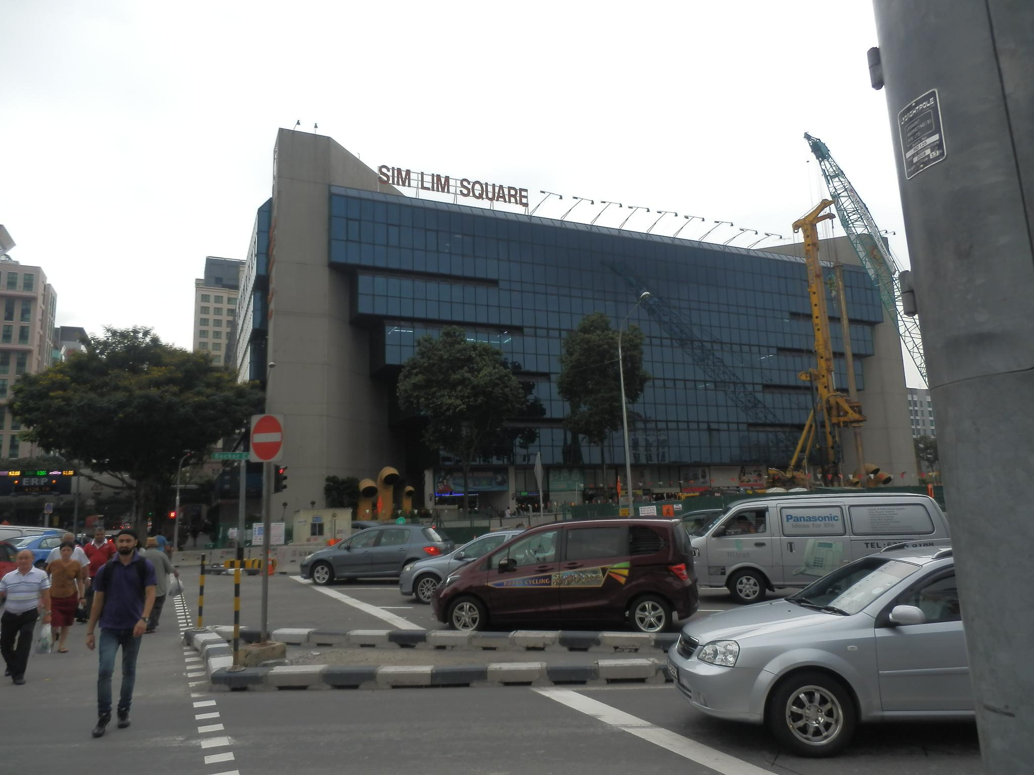 シンガポール・宿に向かう道