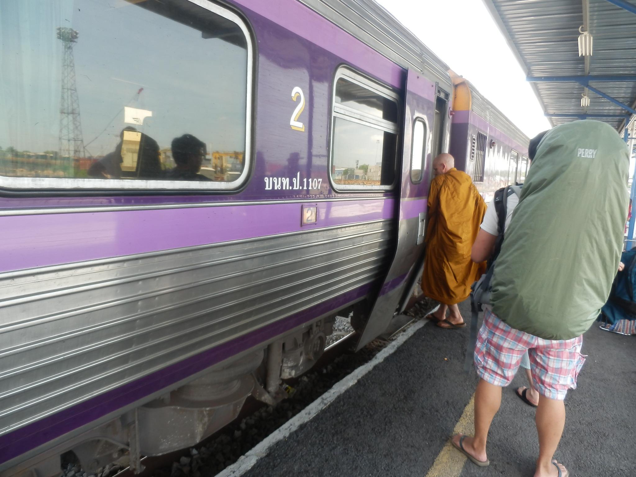タイ行き寝台列車