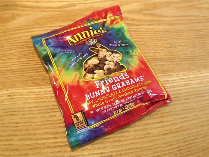 Annie's Homegrown, Bunny Graham Friends, Honey, Chocolate, Chocolate Chip, 6 Snack Packs, 1 oz (28 g) Each $4.78_3