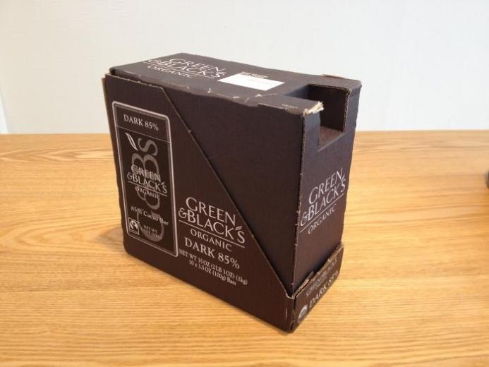 Green & Black's Chocolate, Organic Dark Chocolate, 10 Bars, 3.5 oz (100 g) Each $35.84_4