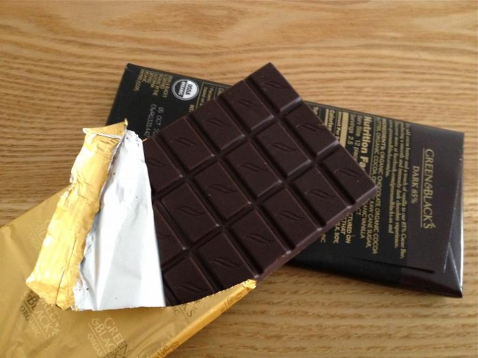 Green & Black's Chocolate, Organic Dark Chocolate, 10 Bars, 3.5 oz (100 g) Each $35.84