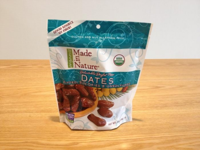 Made in Nature, Organic Dates, Pitted, Sun-Dried & Unsulfured, 6 oz (170 g) $5.03