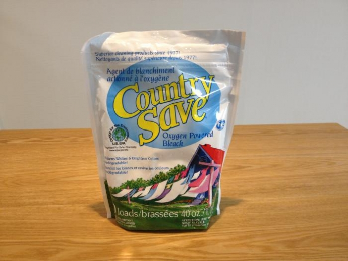 Country Save, Oxygen Powered Bleach, 40 oz (1.134 kg) $5.54
