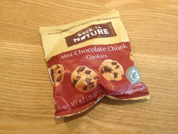 Back to Nature, Mini Chocolate Chunk Cookies, 6 Pouches, 1.25 oz (35 g) Each $5.09_1