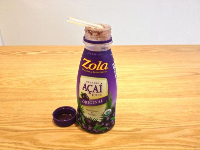 Zola, Acai Original Juice, 12 fl oz (354 ml) $2.88