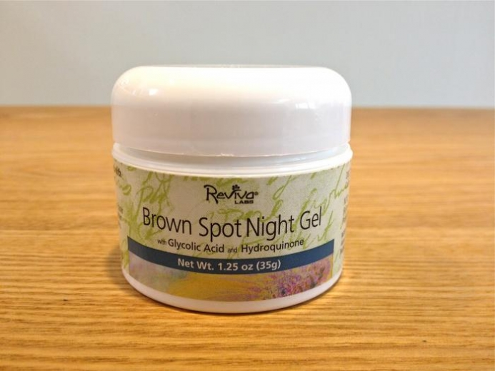 Reviva Labs, Brown Spot Night Gel with Glycolic Acid, 1.25 oz (35 g) $9.10_1