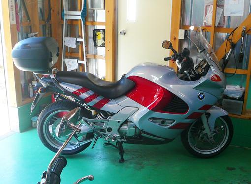 K1200RSガレージ