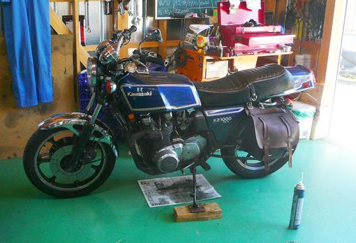 Mk2ガレージ