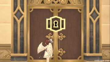 レンダーシアでたまに見かける鍵付き扉