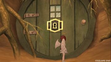 ラバニの穴の扉
