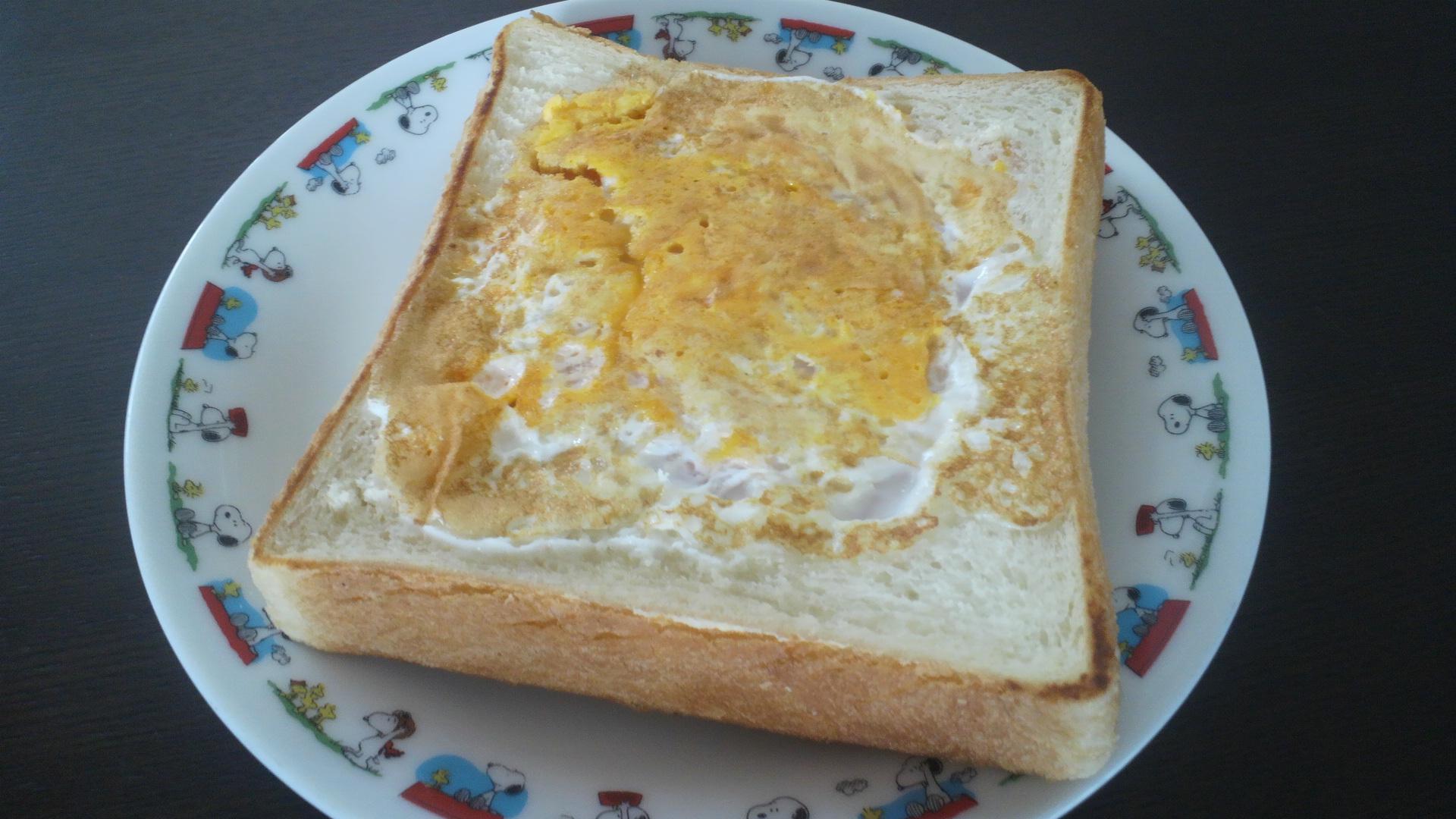 朝においしいトースト