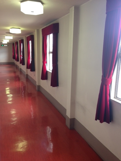 歌舞練場廊下窓