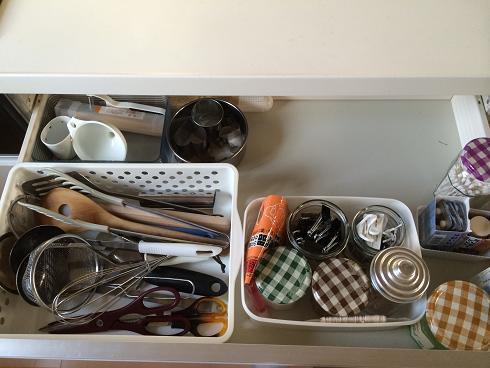 キッチン引き出し1