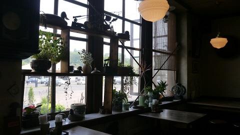 JRニセコ駅舎内 茶房ヌプリ