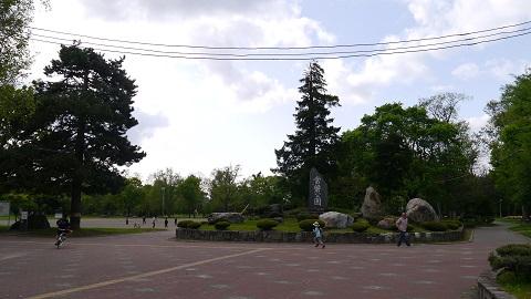 旭川市 ウォーキング (2014年5月)