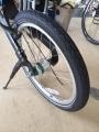 bikeE後輪