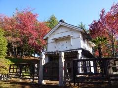 蔵座敷の風景(秋)