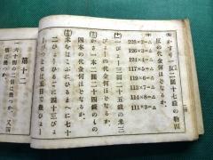 明治時代の算数の教科書