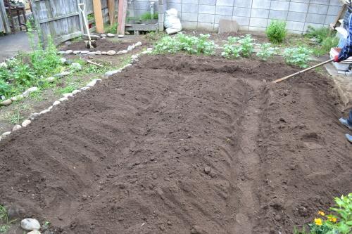 庭にいます。 畑作りと夏野菜 ... : メートル計算 : すべての講義
