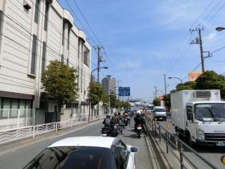 東京モーターサイクルショー 駐車場渋滞