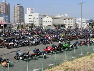 東京モーターサイクルショー 臨時駐車場