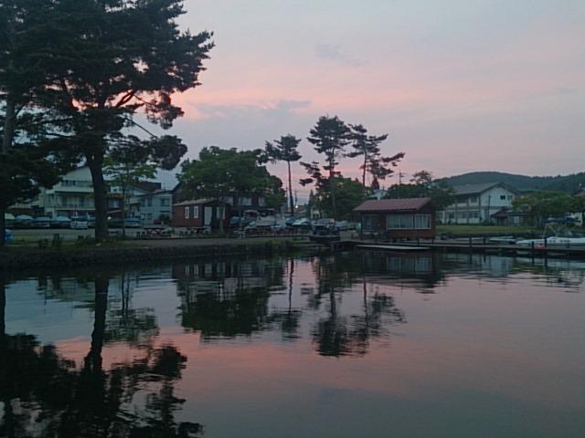20140603 夕方の湖面