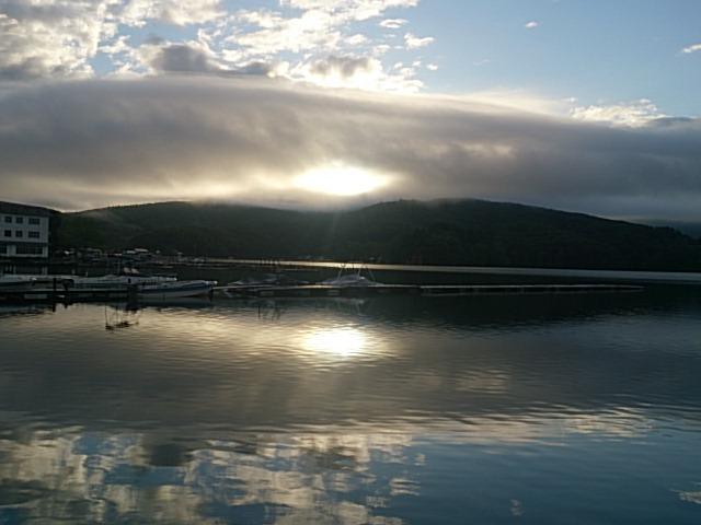 20140613 朝の水面