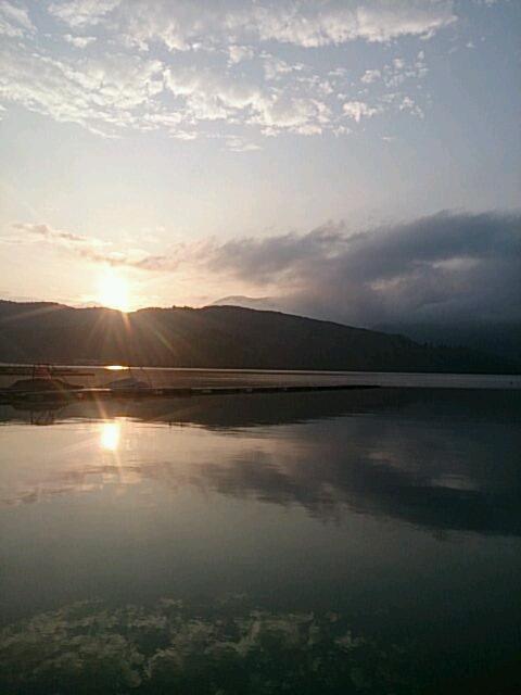 20140625 朝の湖